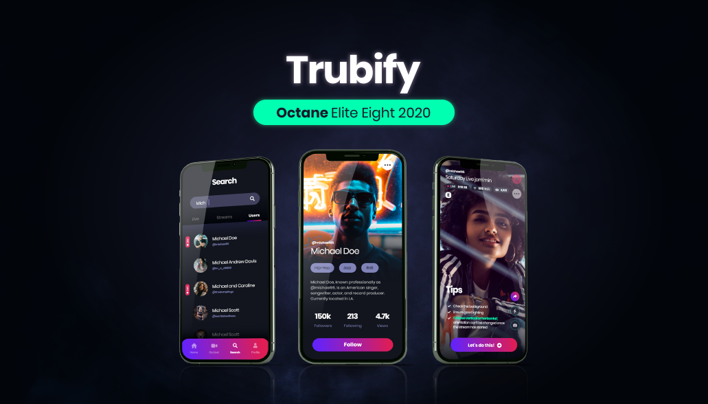 Trubify Alpha Team celebrates iOS and Android app release